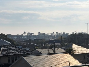 2階からの眺望 池見堂 R2.01.24